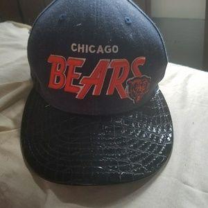 6da6c774083e5f New Era Accessories   Chicago Bears Leather Strapback   Poshmark
